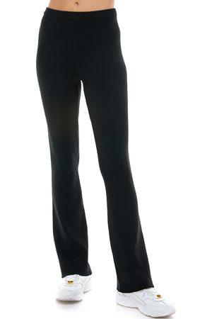 WAYF Plus Size Women's '98 Antonio Ribbed Flare Pants