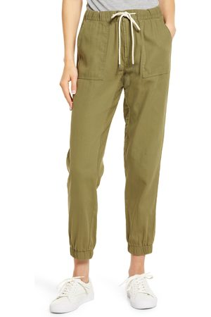 Hidden Jeans Women's Utility Pocket Cotton Joggers