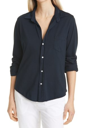 FRANK & EILEEN Women's Barry Knit Button-Up Shirt