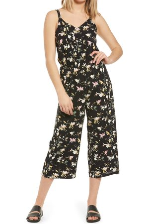 VERO MODA Women's Simply Easy Floral Culotte Jumpsuit
