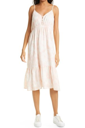 Rails Women's Delilah Tie Dye Linen Blend Midi Dress
