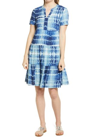 Beachlunchlounge Women's Coley Print Tiered Shift Dress