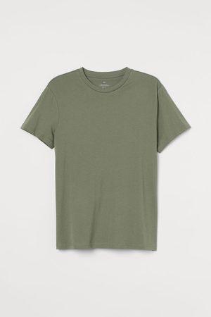 H&M Men T-shirts - Regular Fit Crew-neck T-shirt