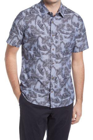 Travis Mathew Men's Top Down Short Sleeve Button-Up Shirt