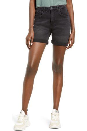 VERO MODA Women's Joana High Waist Stretch Mom Shorts