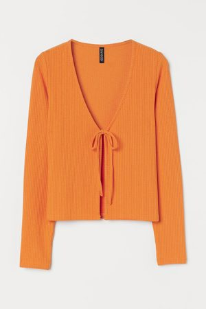 H&M Women Cardigans - Ribbed Cardigan