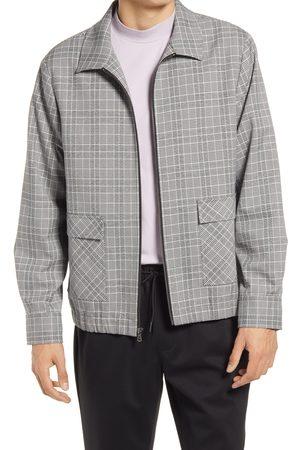 Open Edit Men's Collar Bomber Jacket