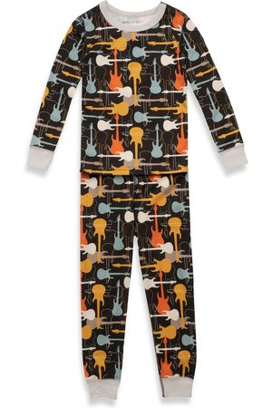 PAJAMAS FOR PEACE Toddler Boy's Kids' Rock Out Fitted Two-Piece Pajamas