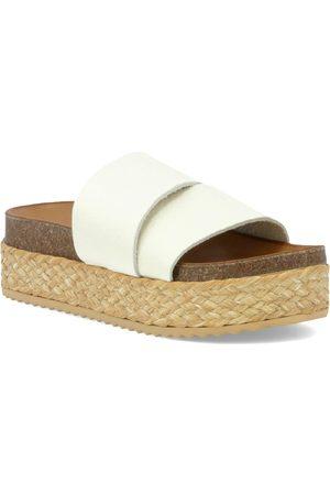 Inuovo Women's Finbar Platform Espadrille Slide Sandal