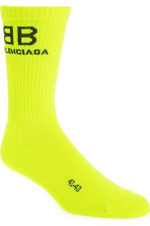 Balenciaga Men's Bb Socks