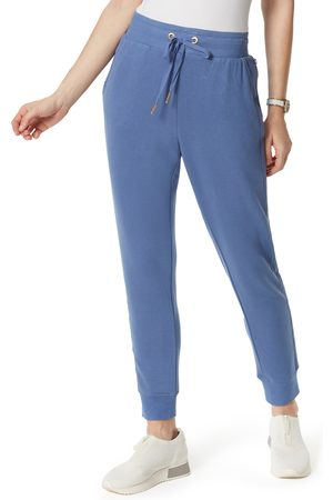 Anne Klein Sport Women's Slim High Waist Joggers