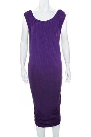 Emporio Armani Knit Sleeveless Shift Dress M