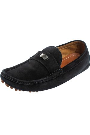 Gucci Suede Slip on Loafers Size 41.5