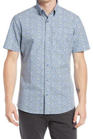 Nordstrom Men's Tech-Smart Floral Short Sleeve Button-Up Shirt