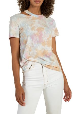 N:philanthropy Women's Zander Tie Dye Cutout T-Shirt