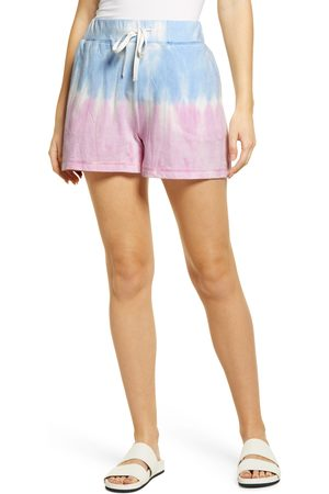 Beachlunchlounge Women's Tie Dye French Terry Shorts