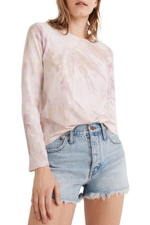 Madewell Women's Northside Long Sleeve Tie Dye T-Shirt