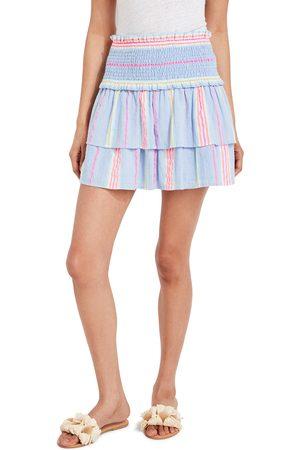 Vineyard Vines Women's Beachy Stripe Smocked Skirt