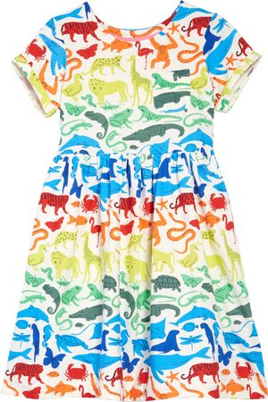 Boden Toddler Girl's Kids' Print Jersey Fit & Flare Dress
