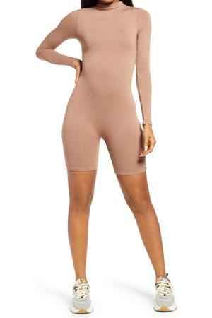 Naked Wardrobe Women's The Nw All Body Long Sleeve Romper
