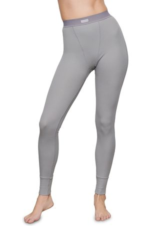 SKIMS Plus Size Women's Cotton Rib Thermal Leggings
