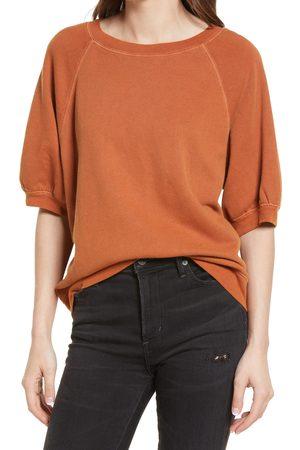 Treasure & Bond Women's Puff Sleeve Sweatshirt