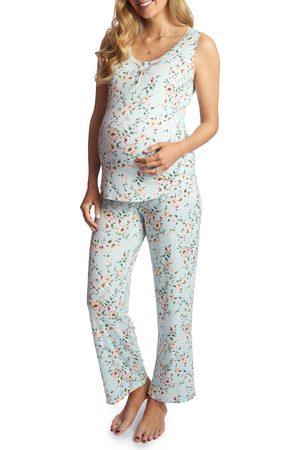 Everly Grey Women's Joy Tank & Pants Maternity/nursing Pajamas