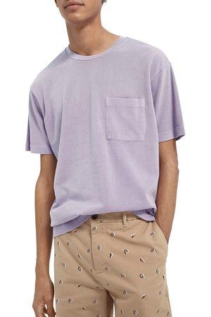 Scotch&Soda Men's Organic Cotton Pique Pocket T-Shirt