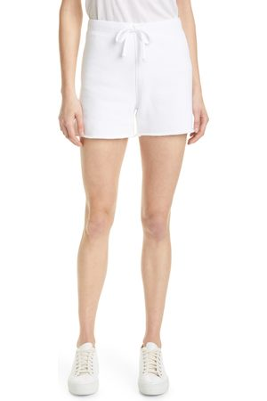 FRANK & EILEEN Women's Raw Edge Cotton Sweat Shorts