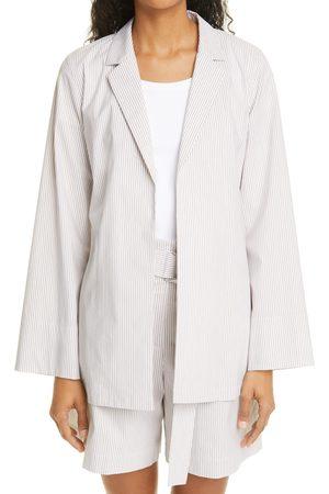 Lafayette 148 New York Women's Mcgraw Stripe Cotton Blend Jacket
