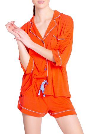 P.J.Salvage Women's Trop Jersey Short Pajamas