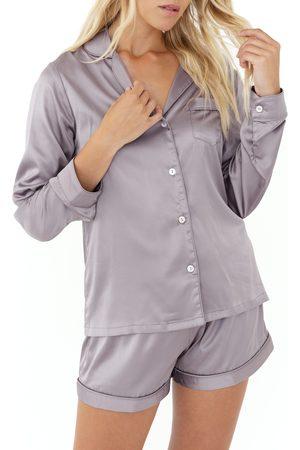 Plum Pretty Sugar Women's Satin Short Pajamas