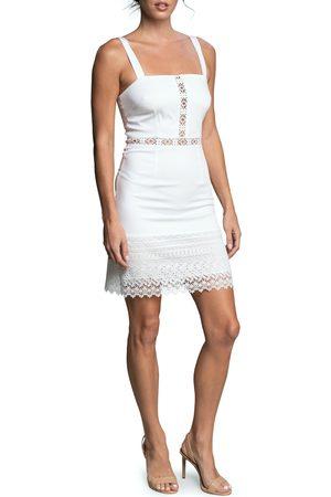 Dress The Population Women's Hazel Cotton Blend Sundress