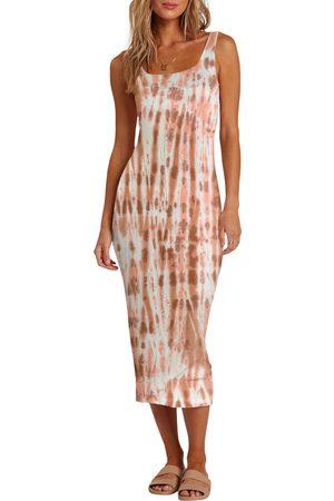 Billabong Women's Warm Waves Tie Dye Sundress