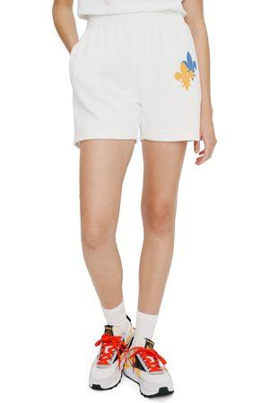 Eleven Paris Women's Fleur De Lis Fleece Shorts