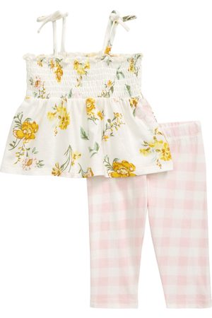 Nordstrom Infant Girl's Smocked Tank & Leggings Set