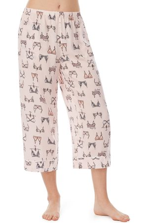 SHADY LADY Women's Crop Pajama Pants