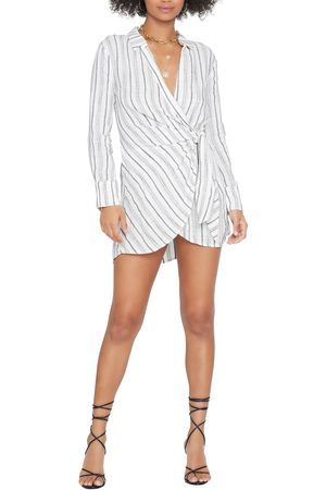 L*Space Women's Daydream Long Sleeve Cover-Up Shirtdress