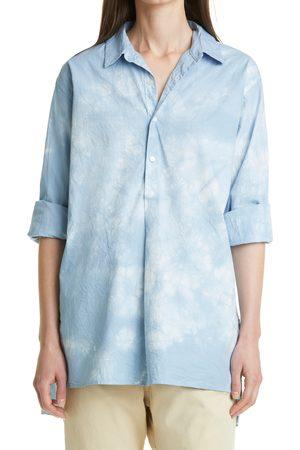 NILI LOTAN Women's Women's Ambrose Tie Dye Cotton Tunic