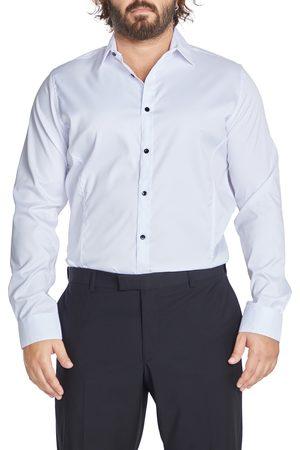 Johnny Bigg Men's Big & Tall Bahamas Regular Fit Solid Stretch Dress Shirt