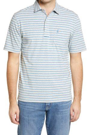 Johnnie-o Men's Men's Hangin' Out Neese Stripe Pocket Polo
