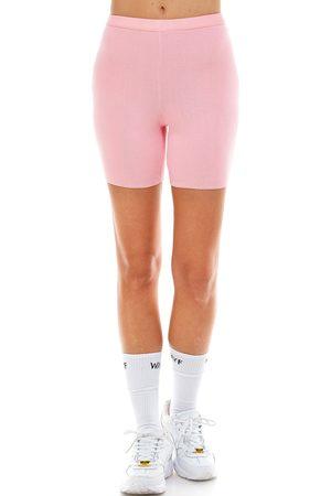 WAYF Plus Size Women's '98 Luke Heathered Bike Shorts