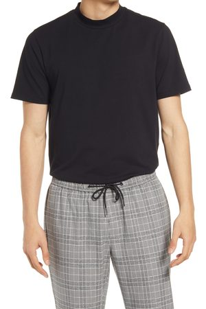 Open Edit Men's Men's Mock Neck T-Shirt
