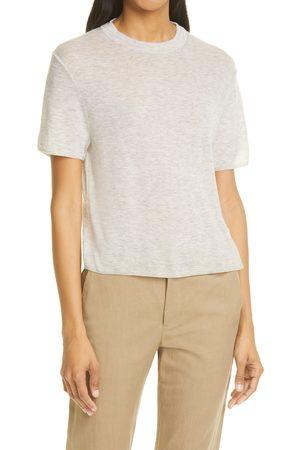 Vince Women's Easy Wool Blend Short Sleeve Sweater