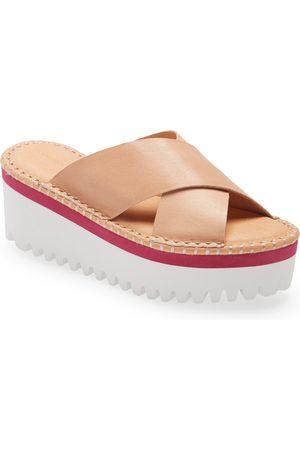 Chocolat Blu Women's Chocolate Blu Madison Lug Sole Platform Slide Sandal