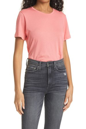 CLUB MONACO Women's Leary Crewneck T-Shirt