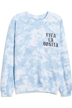 Viva La Bonita Women's Cloud Tie Dye Crewneck Pullover