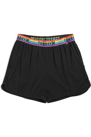 TOMBOYX Women's Sleep Shorts