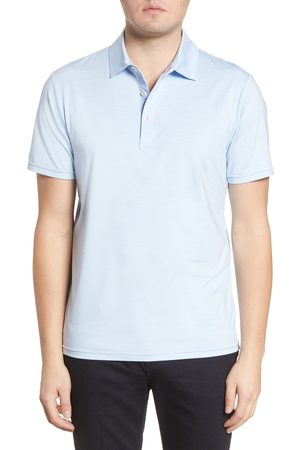 MOVE Performance Apparel Men's Solid Polo