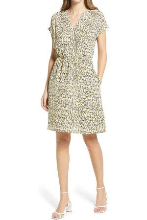 Halogen Women's Halogen Faux Wrap Dress